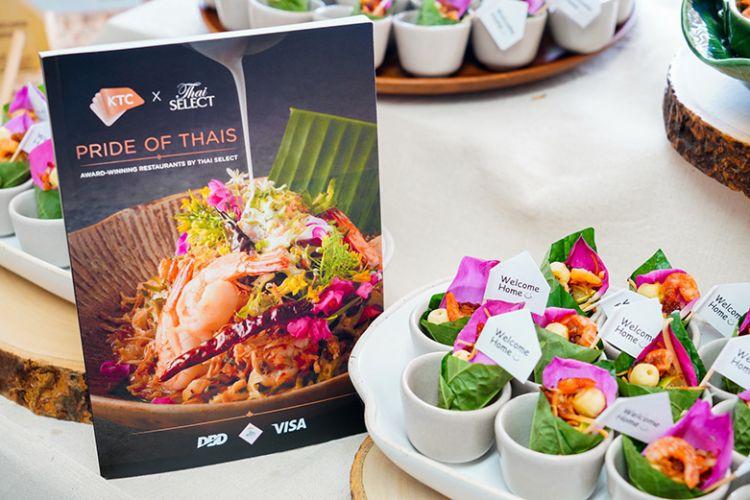 """เคทีซี ร่วมกับ วีซ่า ให้สมาชิกลิ้มรสร้านอาหาร """"Thai SELECT"""""""