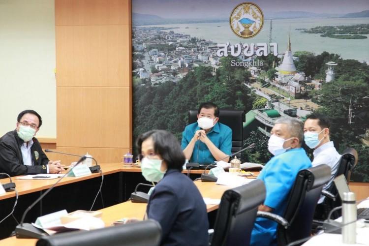 มท.2 ประชุมเร่งแก้น้ำท่วมพื้นที่ราชภัฏสงขลา