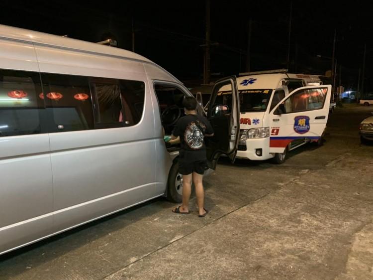 ชาวตรังหายจากโควิด-19 แห่ขอรถกู้ภัยกลับกรุง ไม่มีรถโดยสารบริการ