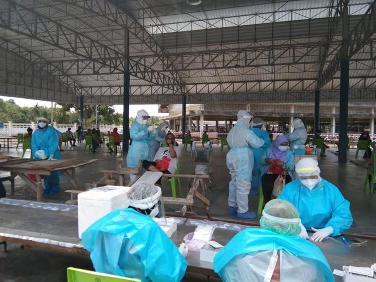 ยอดผู้ป่วยโควิด-19 ยะลากลับมาพุ่งขึ้นอีก 227 ราย แต่ไม่มีคนตายเพิ่ม