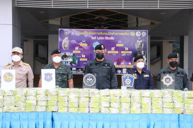 จับขบวนการค้ายาเสพติดรายใหญ่ส่งชายแดนใต้ ยาบ้ากว่า2 ล้านเม็ด-ไอซ์อีก 1 พัน ก.ก.