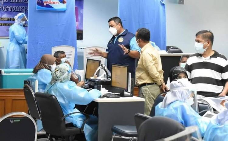 สั่งขนย้ายผู้ป่วยโควิด-19และผู้กักตัว จากศูนย์ฯทรุดโทรมเข้า รพ.