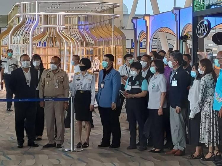 สนามบินภูเก็ตพร้อมแล้วเปิดรับนักท่องเที่ยว  1  ก.ค.