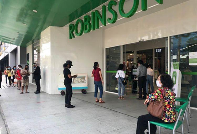 """""""โรบินสัน"""" เปิดรับวิถีชีวิตใหม่ ใช้ 5 แผนแม่บท เพื่อความปลอดภัยลูกค้า"""