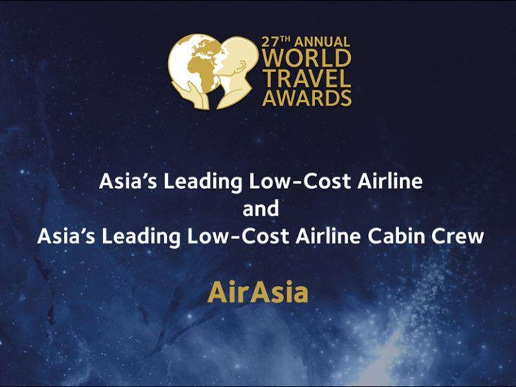 แอร์เอเชีย ชนะเลิศสายการบินราคาประหยัดที่ดีที่สุดในโลกติดต่อกัน 8 ปีซ้อน